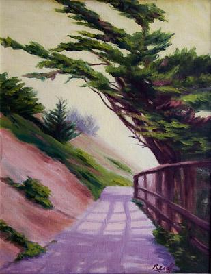 Morning Mist, Oil, 12x15