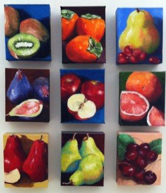 Be Fruitful Series, Oils, 5x6, *