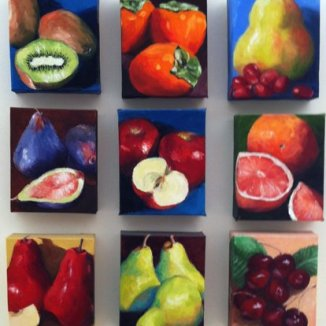 Be Fruitful Series, Oils, 5x6, *
