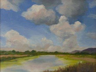 The Estuary, Oil, 14x18